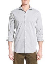 Victorinox - Victorinox Swiss Army 'gibloux' Slim Fit Grid Sport Shirt - Lyst