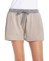 Daniel Buchler - Cotton Blend Lounge Shorts - Lyst