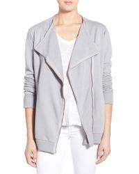 Fine by Superfine - 'fly' French Terry Jacket - Lyst