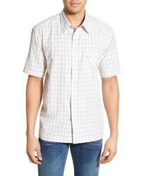 Cova - 'mission Beach' Regular Fit Short Sleeve Sport Shirt - Lyst