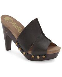 Flogg | 'sammy' Studded Platform Sandal | Lyst