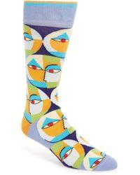 Di Pedarius - 'poet Society' Socks - Lyst