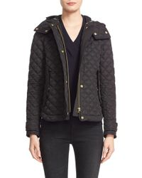Burberry Brit - Leightonbury Quilted Shell Jacket - Lyst
