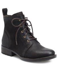Børn - B?rn Troye Vintage Lace-up Boot - Lyst