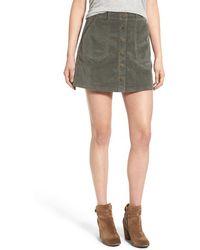 Jolt - Corduroy A-line Skirt - Lyst