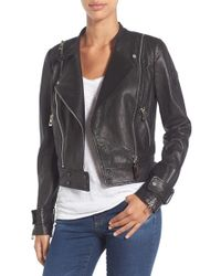 Rudsak | Double Zip Moto Leather Jacket | Lyst