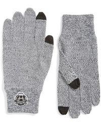 KENZO - Wool Gloves - Lyst
