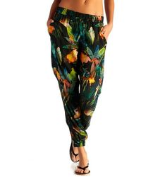 Vitamin A - 'jameson' Print Cover-up Pants - Lyst
