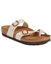 Birkenstock | Mayari Women's Mules / Casual Shoes In Beige | Lyst