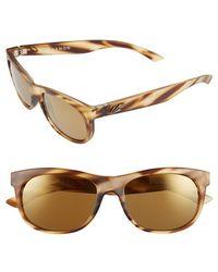 Kaenon - 'stinson' 54mm Polarized Sunglasses - Driftwood - Lyst