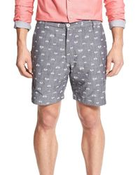Descendant Of Thieves | Reversible Bike Print Shorts | Lyst
