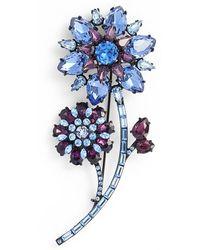 Kate Spade - 'trellis Blooms' Large Brooch - Lyst