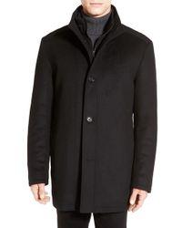 BOSS Green - 'coxtan' Wool Blend Coat - Lyst