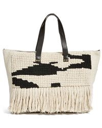 Amuse Society - Woven Tote - Lyst