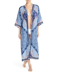 Green Dragon - Print Duster Cover-up - Lyst