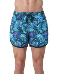 Rainforest - 'jellyfish Garden' Swim Trunks - Lyst