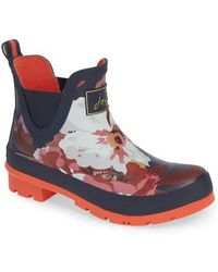 Joules - Wellibob Short Rain Boot - Lyst