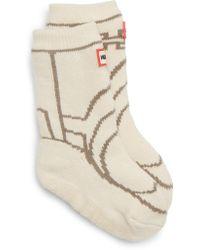 HUNTER - Original Boot Slipper Socks - Lyst