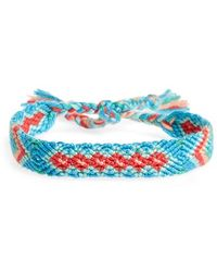 Half United - Friendship Bracelet - Lyst