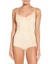 Hue - Seamless Shaping Bodysuit - Lyst