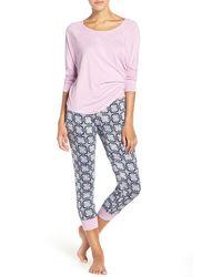 Lucky Brand | Dolman Sleeve Cotton Blend Pajamas | Lyst