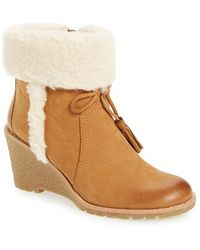 G.H.BASS - 'tiffany' Wedge Boot - Lyst
