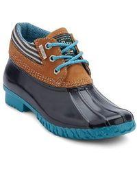 G.H.BASS - Dorothy Waterproof Duck Boot - Lyst