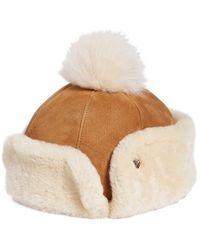 UGG | Ugg Genuine Shearling Pom Hat | Lyst
