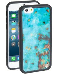 Wildflower - Turquoise Stone Iphone 6/6s Case - Lyst
