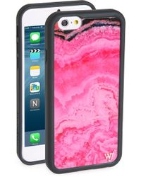 Wildflower - Pink Stone Iphone 6/6s Case - Lyst