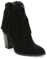 Andre Assous | 'farley' Fringe Bootie | Lyst