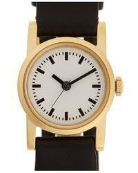 Steven Alan - Round Leather Strap Watch - Lyst