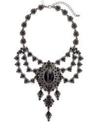 Tasha - Crystal Swag Statement Necklace - Lyst