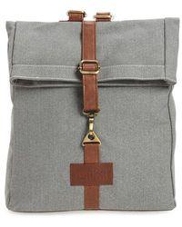 Maika - Waxed Canvas Backpack - Lyst