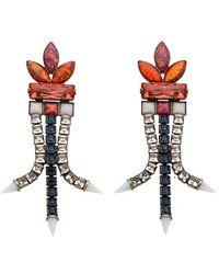 Lionette - 'sea Of Dreams - Brazil' Jewel Drop Earrings - Lyst