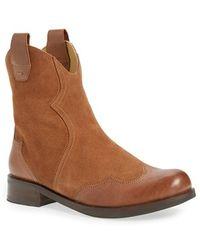 Bussola - 'norwich' Wingtip Cowboy Boot - Lyst