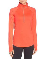 Under Armour - 'layered Up' Water Resistant Half-zip Top - Lyst