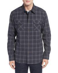 Cova - 'redmond' Regular Fit Plaid Flannel Shirt - Lyst