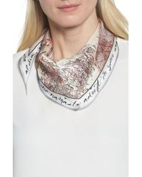 Vince Camuto | You Had Me At Ahoy Kite Silk Scarf | Lyst