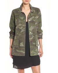 Sincerely Jules - 'alexa' Camo Cotton Military Jacket - Lyst