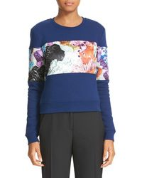 Carven - Crystal Print Sweatshirt - Lyst