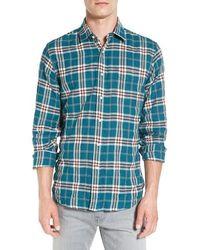 Haspel - Constance Plaid Flannel Sport Shirt - Lyst