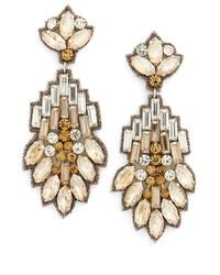 Suzanna Dai - 'vietri' Large Drop Earrings - Lyst