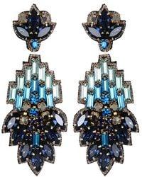 Suzanna Dai - 'vietri' Large Drop Earrings - Lyst