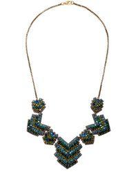Suzanna Dai - 'zocalo' Frontal Necklace - Lyst