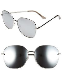 Fantaseyes | 'highball' 63mm Square Sunglasses | Lyst