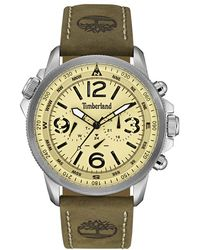 Timberland - 'campton' Multifunction Leather Strap Watch - Lyst