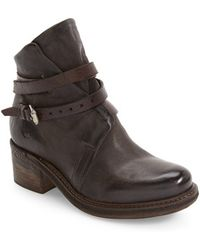 A.s.98 | Norman Buckle Strap Boot | Lyst