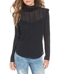 June & Hudson - Turtleneck Sweater - Lyst