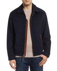 Lanai Collection - Tundra Suede Trim Wool Jacket - Lyst